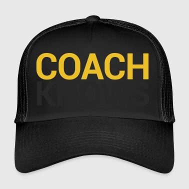 Coach / Coach: Coach Knows - Trucker Cap