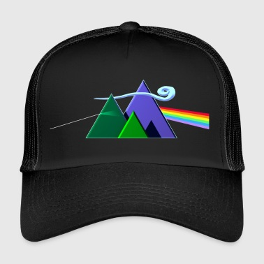 Dark Side Of The Mountains - Trucker Cap