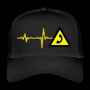 Gift Heartbeat Call Center Telefon - Trucker Cap