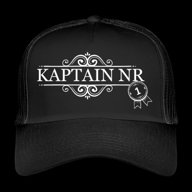 Capitaine No. 1 - Capitaine - Trucker Cap