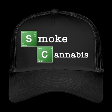Smoke Cannabis - Trucker Cap