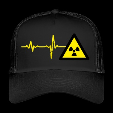 Gift Heartbeat Atom Physicist - Trucker Cap