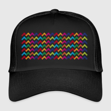 Colour Wave - Trucker Cap