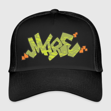 mare graffiti - Trucker Cap
