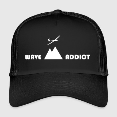 Wave addict white - Trucker Cap