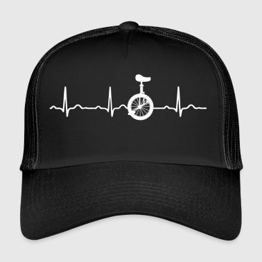 CADEAU - ECG HEARTBEAT MOUNTAIN MONOCYCLE - Trucker Cap