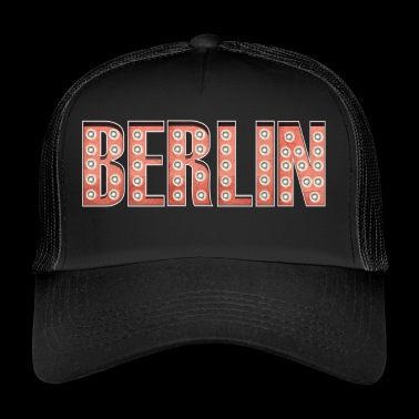 Berlin retro skrift Casino - Trucker Cap