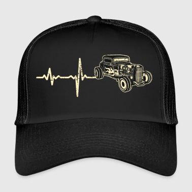 Lahja Heartbeat Hot Rod hotrod - Trucker Cap
