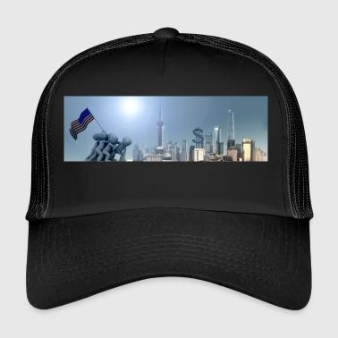 Dollaro US Banner - Trucker Cap
