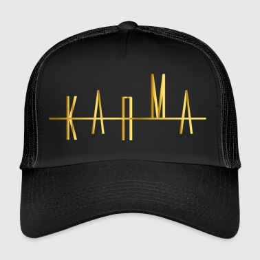 Karma in gold destiny and luck - Trucker Cap