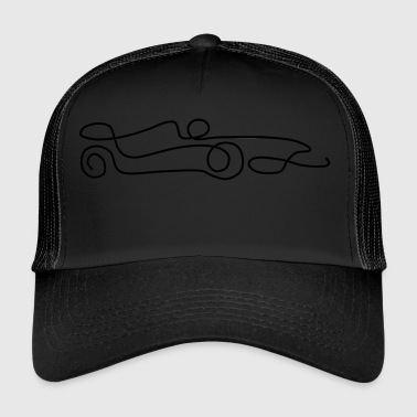 race car - Trucker Cap