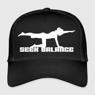 Yoga Seek Balance - Trucker Cap