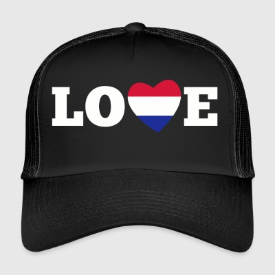 Pays-Bas amour - Trucker Cap
