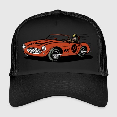 car racing - Trucker Cap