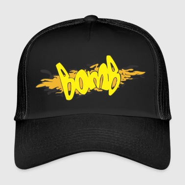 bomb graffiti - Trucker Cap