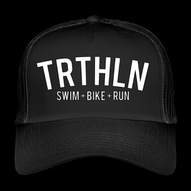 Triathlon - White Edition - Trucker Cap