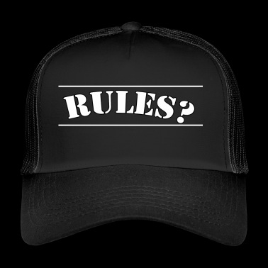 Rules - Trucker Cap