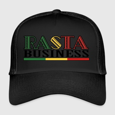 Rasta Business - Trucker Cap