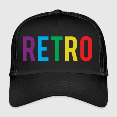 retro - Trucker Cap