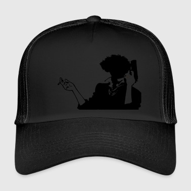 Cowboy bebop spike HQ simple - Trucker Cap