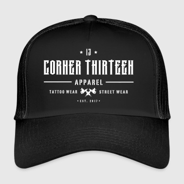 Lettrage solide - Trucker Cap