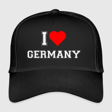 I love Germany - Trucker Cap