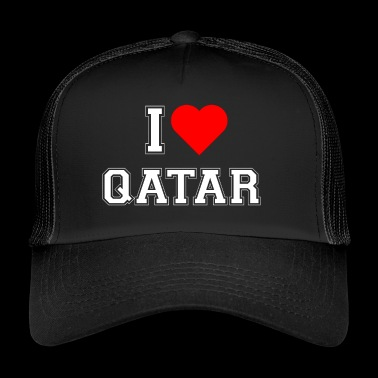 I love Qatar - Trucker Cap