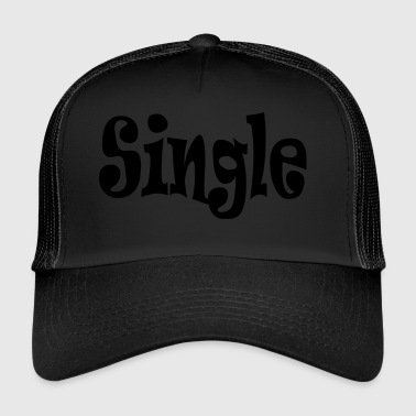 single Black - Trucker Cap