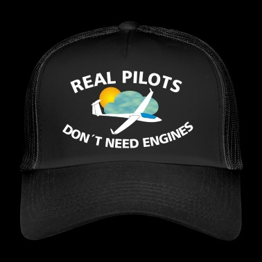 Glider saying funny gift pilot - Trucker Cap