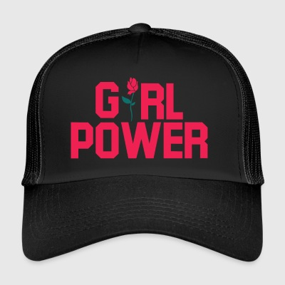 Girl Power. Flickaktiga gåvor. - Trucker Cap