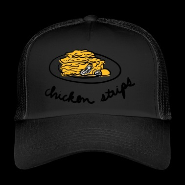 Chicken Stripes - Trucker Cap