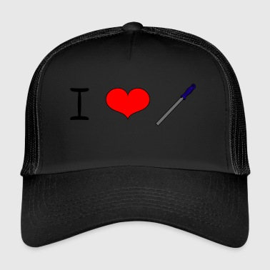 I Love filer - Trucker Cap