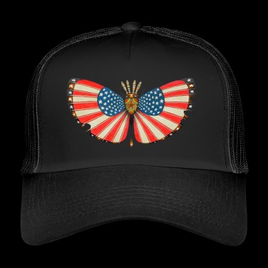patriot mot - Trucker Cap