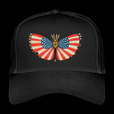 papillon patriote - Trucker Cap