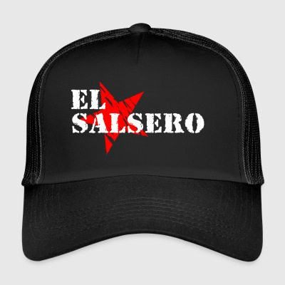 EL SALSERO Shirt - White - Mambo New York - Trucker Cap