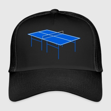tennis de table de ping pong ping-pong bat7 - Trucker Cap