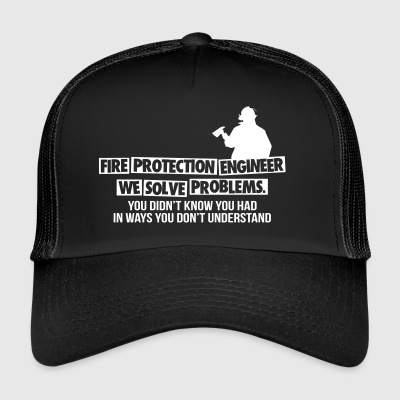 Fire Protection Engineer - Fire Department - Trucker Cap