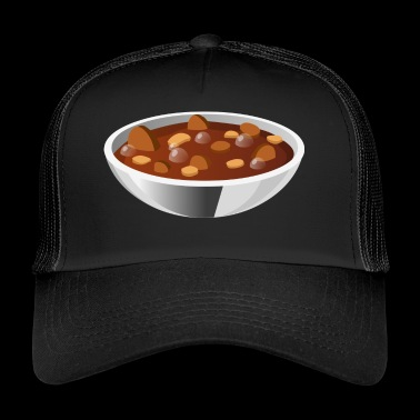 soup stew soup bowl noodle cooking food16 - Trucker Cap