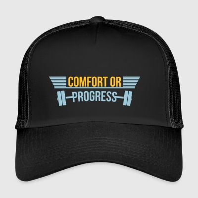 Komfort eller Progress fitness-center - Trucker Cap