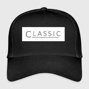 klassiek wit - Trucker Cap