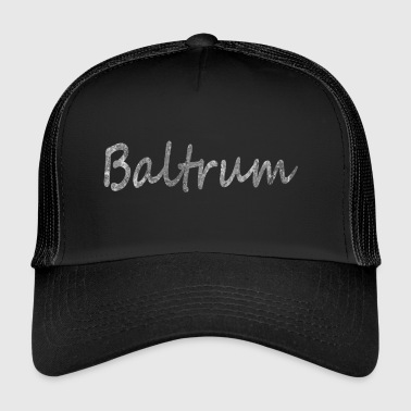 Baltrum øen! gaveidé - Trucker Cap