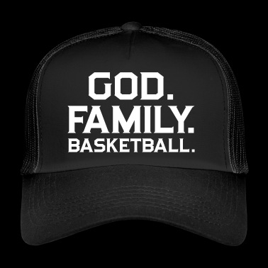 Basketball! BBall! Streetball! NBA! Court - Trucker Cap