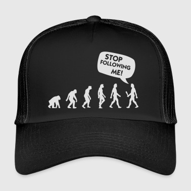 The Evolution Of A Stalker - Trucker Cap