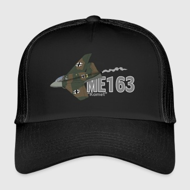 Mig 163 Komet (Writing) - Trucker Cap