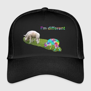 I'm different. Stay different. Be different. - Trucker Cap