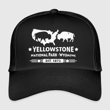 Buffalo Bison Buffalo Yellowstone National Park USA - Trucker Cap