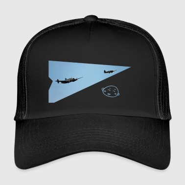 Smily_flight - Trucker Cap