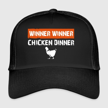 chicken dinner - Trucker Cap