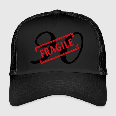 90th birthday: 90 - Fragile - Trucker Cap