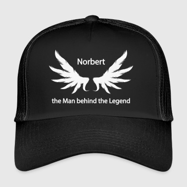 Norbert the Man behind the Legend - Trucker Cap